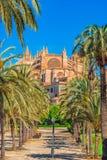Spain Palma de Mallorca Cathedral Royalty Free Stock Photos