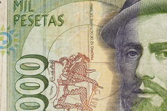 Spain Paper Money Stock Photography