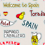 Spain pattern Stock Images