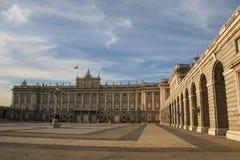 spain pincipal kunglig sida spain för madrid slott Royaltyfri Bild