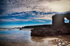 Spain, Playa de las catedrales Royalty Free Stock Images