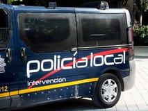 Spain police car Royalty Free Stock Photos