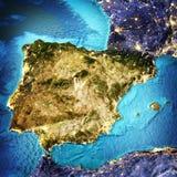 Spain, Portugal, Mediterranean Sea Stock Photography