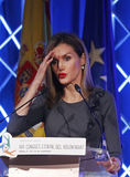 Spain Queen Letizia 016 Royalty Free Stock Photography