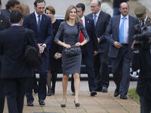 Spain Queen Letizia 007 Royalty Free Stock Images