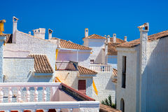 Spain real estate Royalty Free Stock Images
