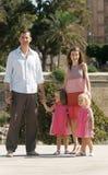 Spain royal family Royalty Free Stock Photo