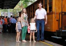 Spain Royal family posing Royalty Free Stock Photography