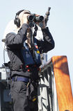 Spain´s marine official Stock Images
