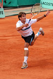 Spain's Tommy Robredo at Roland Garros Royalty Free Stock Photos