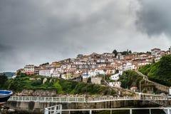 Spain seaside village Royalty Free Stock Image