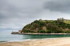 Spain seaside village Royalty Free Stock Images