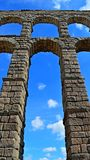 Spain Segovia Aqueduct (5) Royalty Free Stock Photo