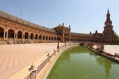 Spain Sevilha quadrada Imagem de Stock