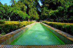 Spain Seville Fountain 2 stock image