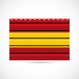 Spain siding produce company icon Stock Photos