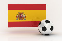 Spain Soccer Stock Photo