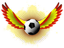 Spain Soccer Ball Royalty Free Stock Image