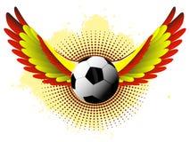 Spain Soccer Ball stock illustration
