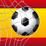 Spain soccer classic icons of Spanish culture Stock Photography