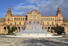 Spain Square stock images