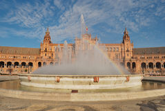 Spain square Royalty Free Stock Images