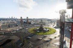 Spain Square, Barcelona, Spain Royalty Free Stock Image