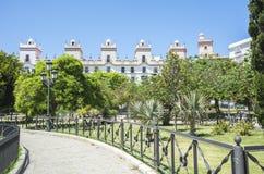Spain Square, Cadiz, Spain (Plaza de España) Royalty Free Stock Image