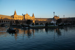 Spain square Royalty Free Stock Photography