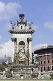 Spain square Stock Image
