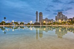 Spain Square, Santa Cruz de Tenerife Stock Photos