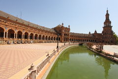 Spain Square Seville Stock Image