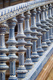 Spain Square in Seville Stock Images