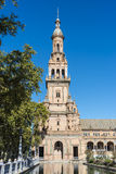 Spain Square in Seville, Andalusia, Spain. Royalty Free Stock Image