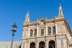 Spain Square in Seville, Andalusia, Spain. royalty free stock photos
