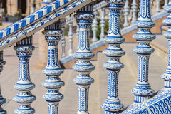 Spain Square in Seville, Andalusia, Spain. Stock Photography