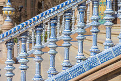 Spain Square in Seville, Andalusia, Spain. Royalty Free Stock Photo