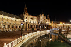 Spain square,seville Royalty Free Stock Photography