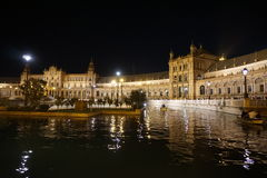 Spain square in Seville royalty free stock photos