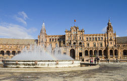 Spain square, Seville Stock Photography