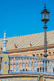 Spain Square in Seville province, Andalusia, Spain. stock photos