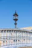 Spain Square in Seville, Spain. Stock Image