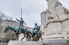 Spain Square in the spanish capital. Stock Photography