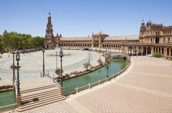 Spain Square view Royalty Free Stock Images