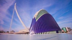 Spain sun light sky valencia aquarium panorama bridge 4k time lapse stock video footage