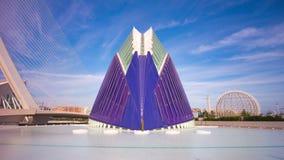 Spain sunny day sky light aquarium panorama 4k time lapse stock video