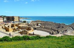 Spain. Tarragona. Spain. View of the city of Tarragona - a famous resort on the Costa Dorada stock photos