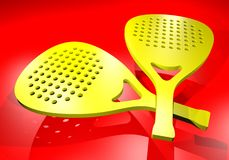 Spain team paddle Royalty Free Stock Photos