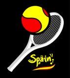 Spain tennis Stock Image