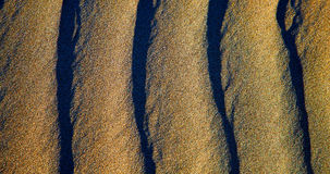 Spain texture abstract of a  dry sand Royalty Free Stock Photography